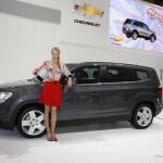 Chevrolet показало новую модель Orlando в Париже.