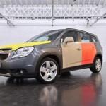Chevrolet Orlando украсили в честь юбилея