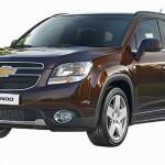 Chevrolet Orlando 2012 рестайл