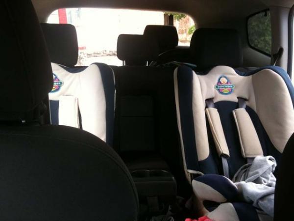 детское кресло в Chevrolet Orlando