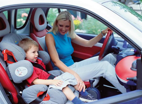 Безопасность при перевозке детей