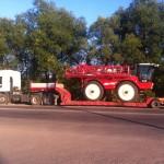 Особенности перевозки сельхозтехники