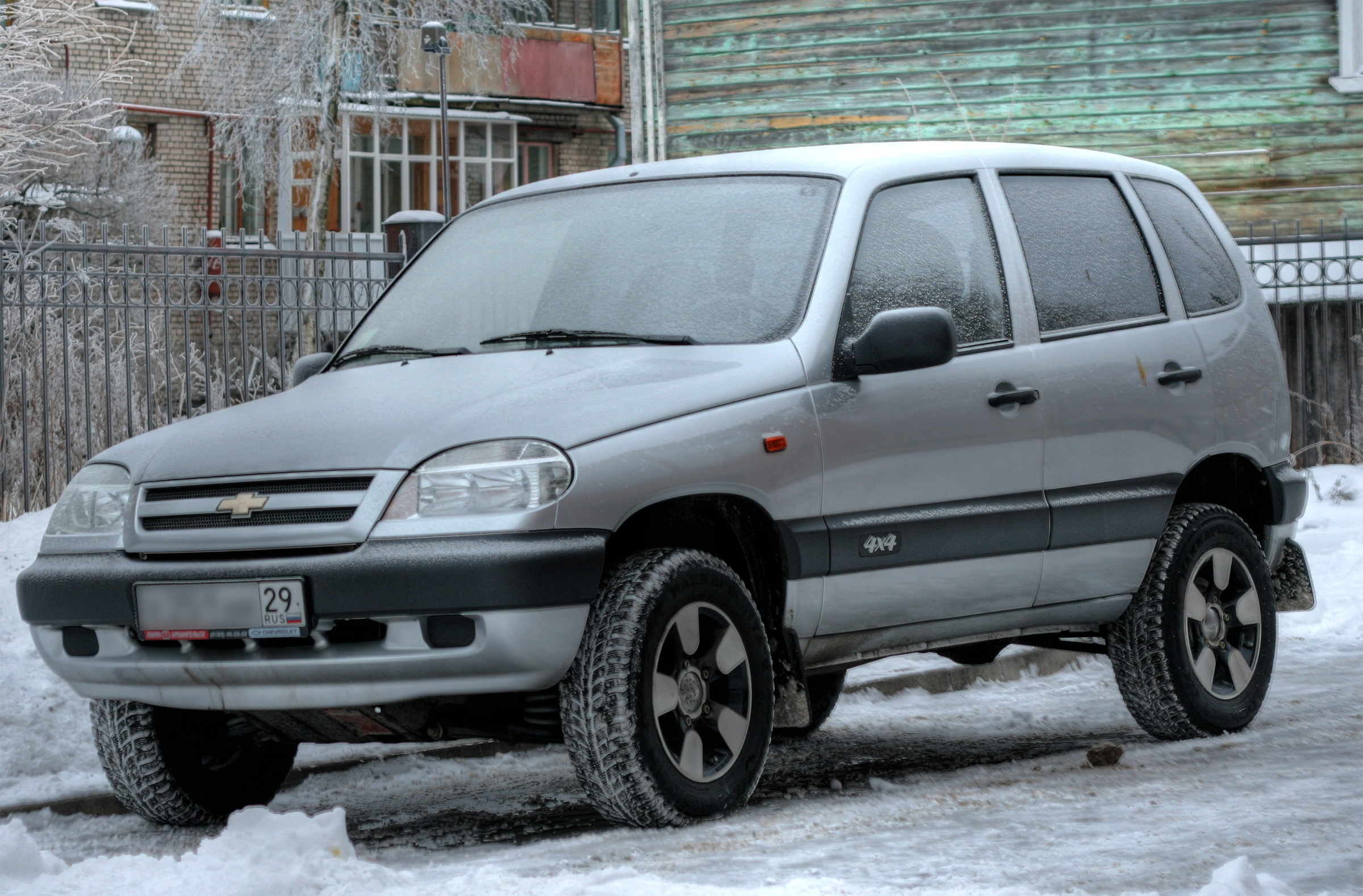 Chevrolet Niva – стильный городской внедорожник