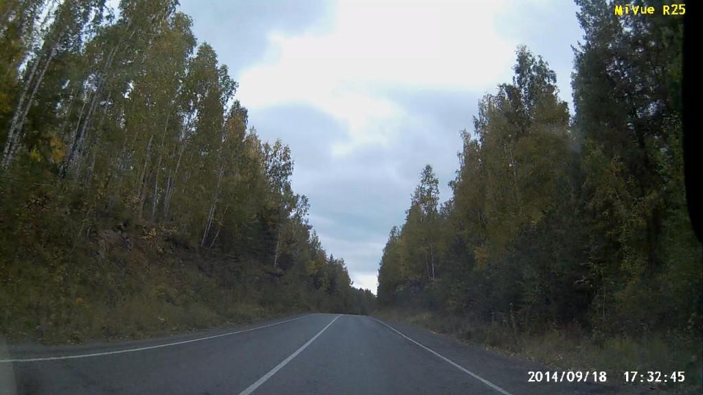 Вот такая дорога на Миасс.