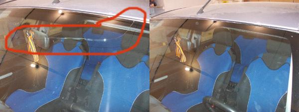 Ремонт трещин и сколов на лобовом стекле